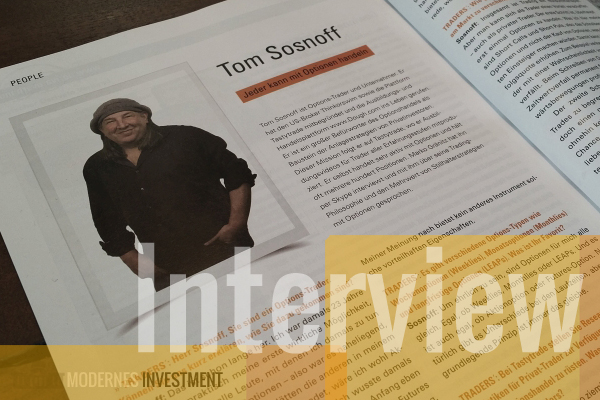 Tom Sosnoff Interview