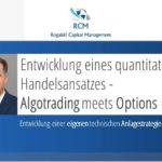 Algotrading meets Options – Entwicklung eines quantitativen Handelsansatzes