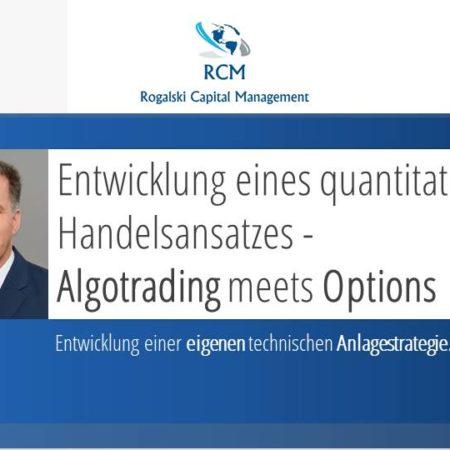 Entwicklung einer eigenen technischen Anlagestrategie mit Handelssystemen und Optionen
