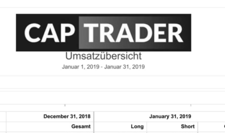 Echtgeldchallenge – Januar 2019 Bilanz