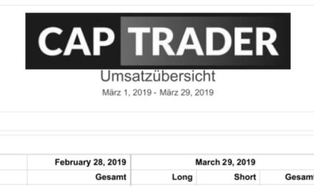 Echtgeldchallenge – März 2019 Bilanz