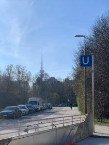 UBahn Station Olympiapark München