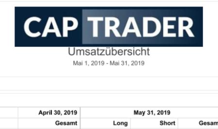 Echtgeldchallenge – Mai 2019 Bilanz