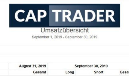 Echtgeldchallenge – September 2019 Bilanz