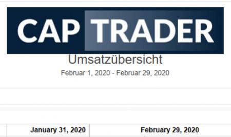 Echtgeldchallenge – Februar 2020 Bilanz