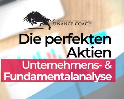Aktien Unternehmens- und Fundamentalanalyse